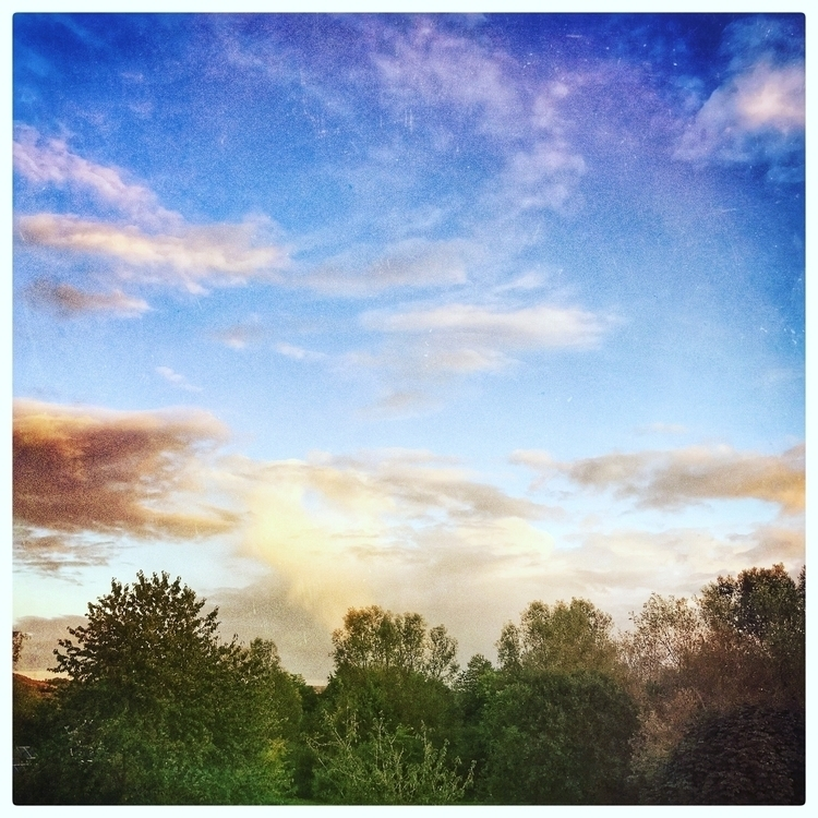 autumnsky, cloudsinlateafternoon - willkreutz | ello