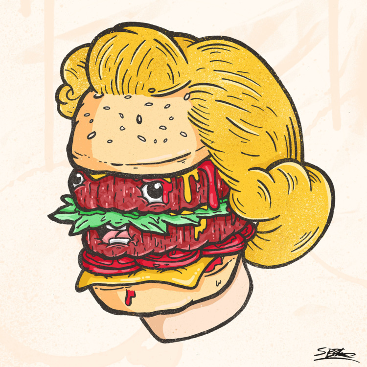 Happy National Cheeseburger Day - samuelbthorne | ello