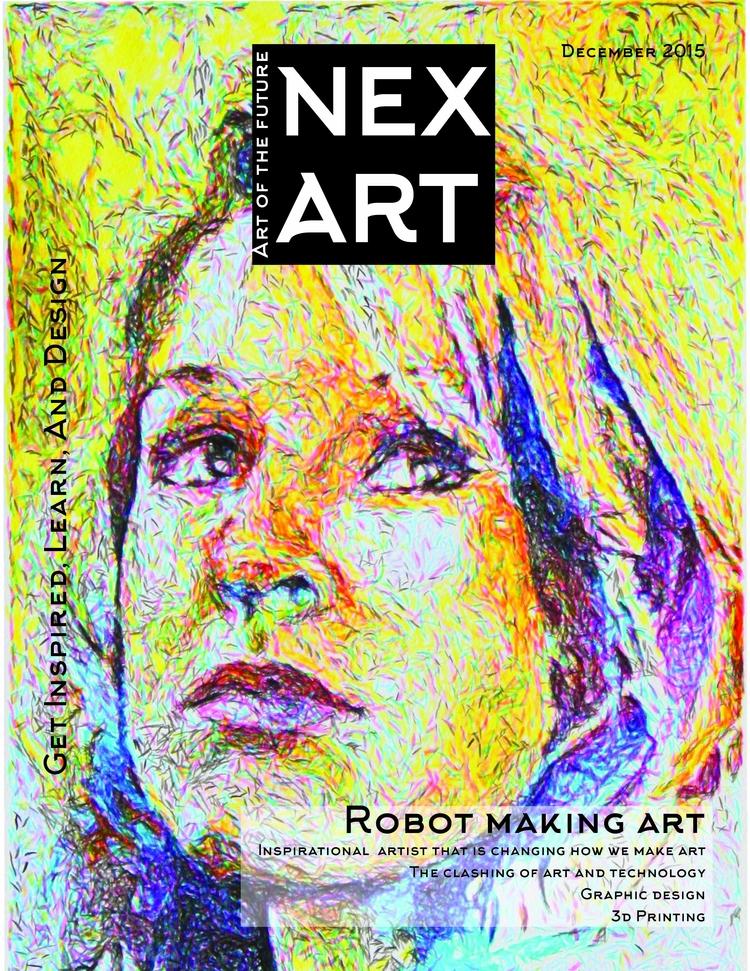 NexArt Conceptual Magazine Desi - davidyangdesign | ello