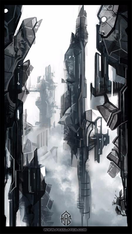 17-9-18 - sci-fi, environment, landscape - fasslayer | ello
