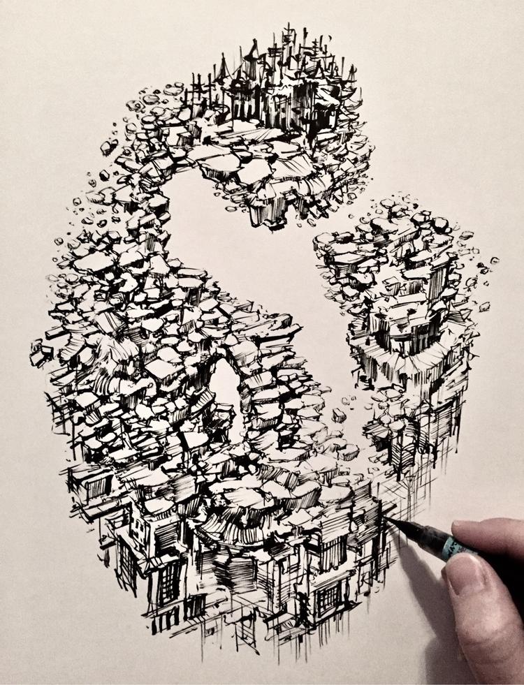drawing saving grace.  - art, artist - brianjohnsonart | ello