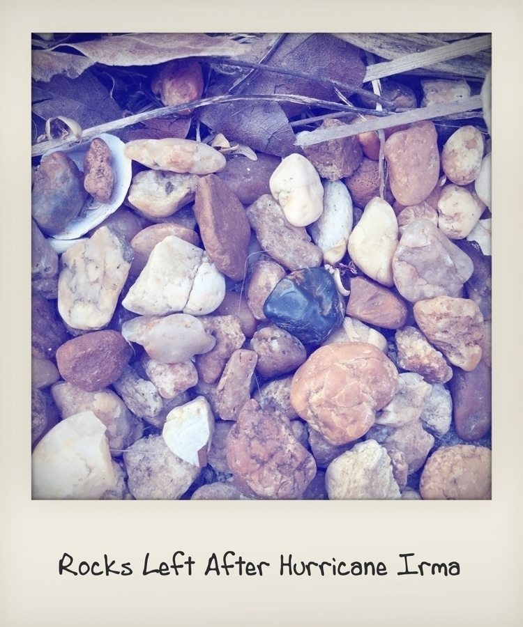 Rocks Left Hurricane Irma Apps - mikefl99 | ello