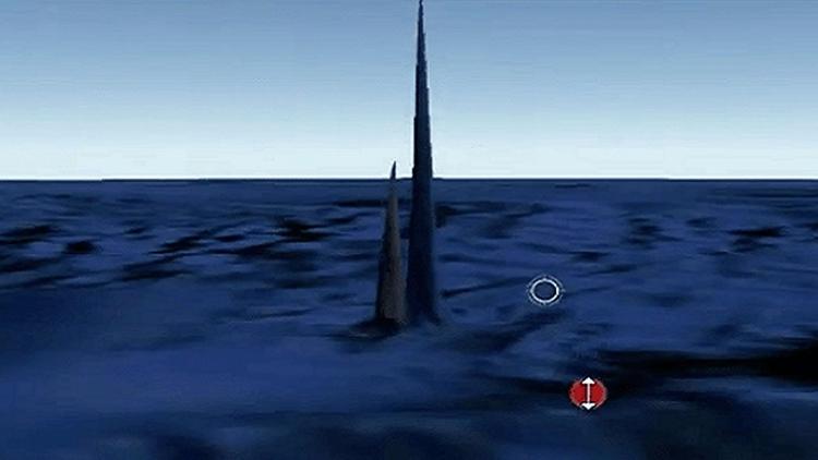 Descubren obeliscos submarinos  - codigooculto   ello