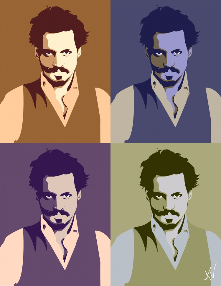 Johnny Depp Vector - viithay | ello