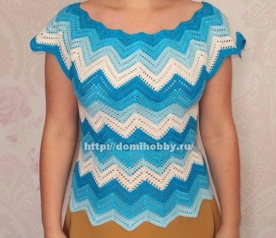 Girls lovely crochet blouse fre - carlabreda | ello