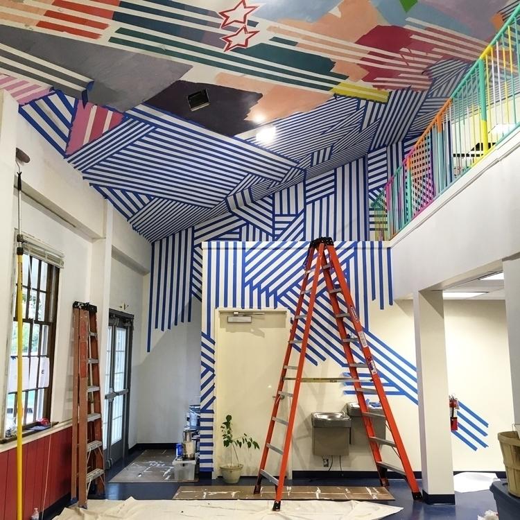 views - art, mural, installation - zimbro | ello