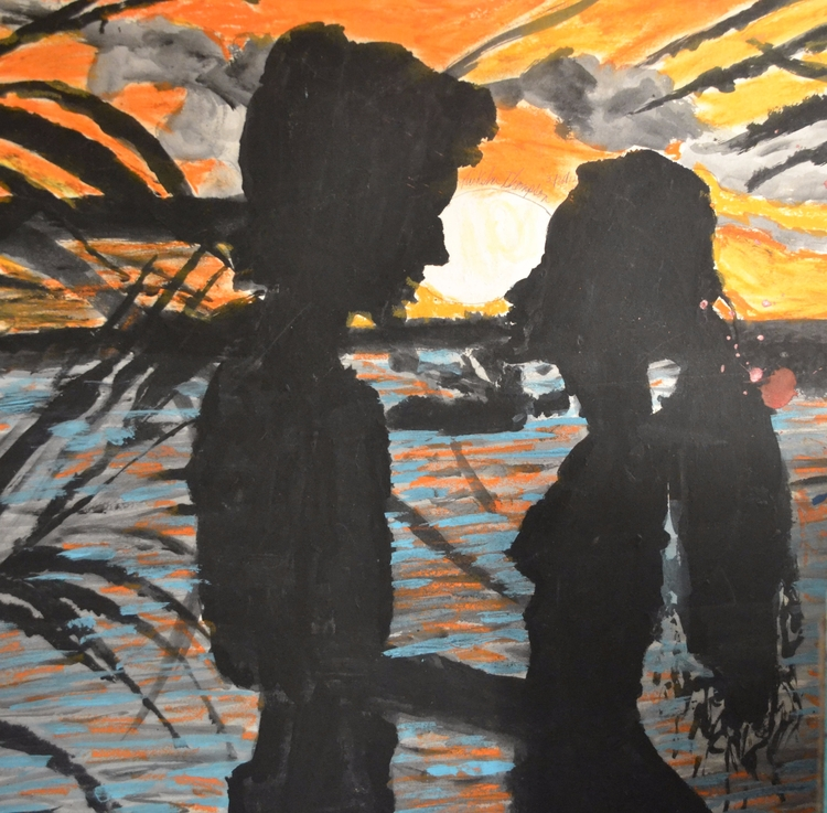 Sunset Love - loveartwonders | ello