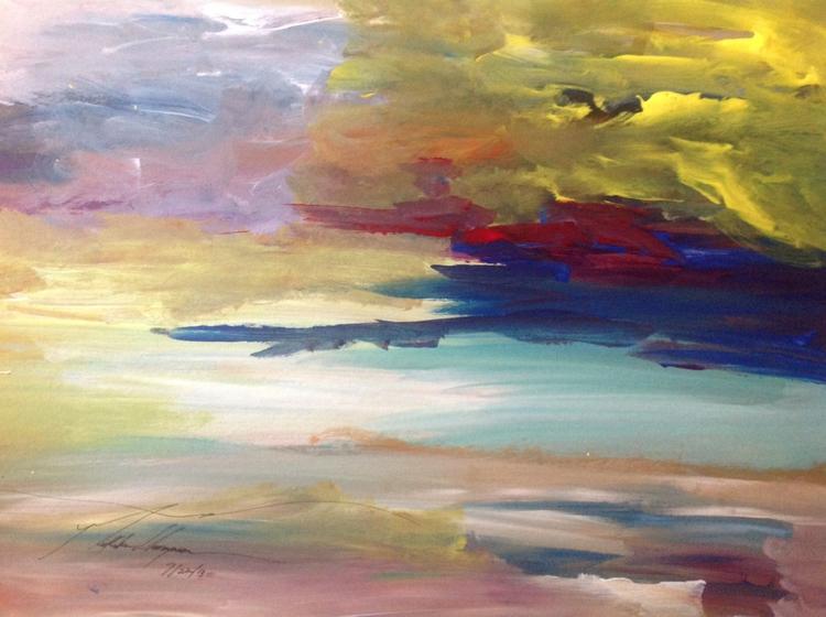 Rays Sunset Skies - loveartwonders | ello