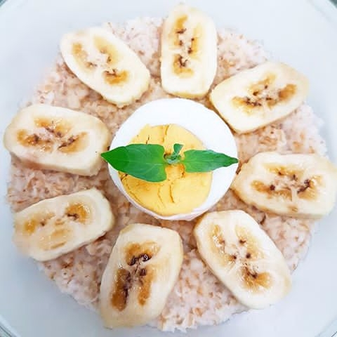 Oatmeal, Egg, Banana, Healthy - vicsimon | ello