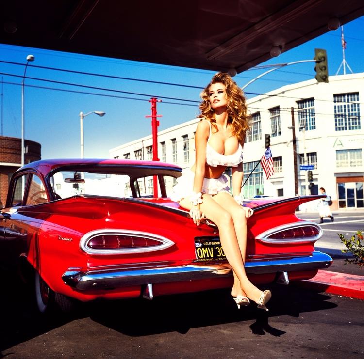 Claudia Schiffer, photographed  - bintphotobooks | ello