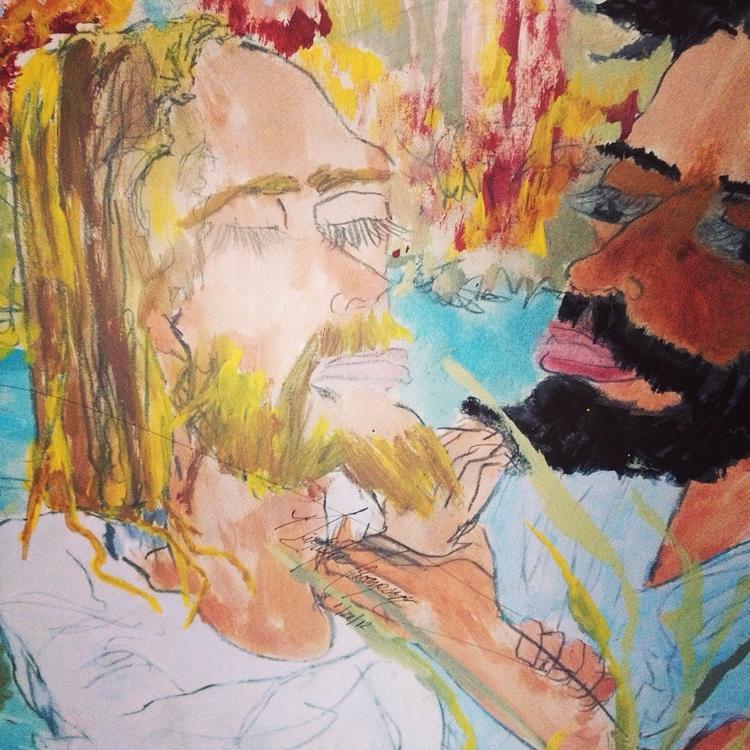 Jesus Baptisim - loveartwonders | ello