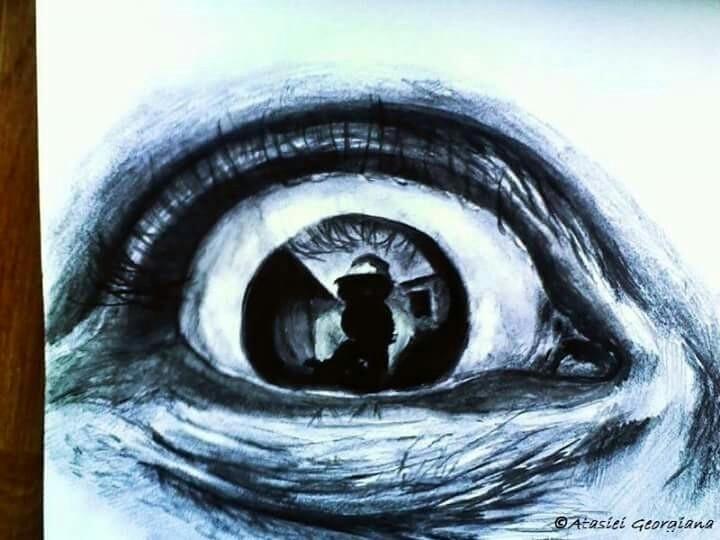 eye4, human, ink, paper - atasieigeo | ello