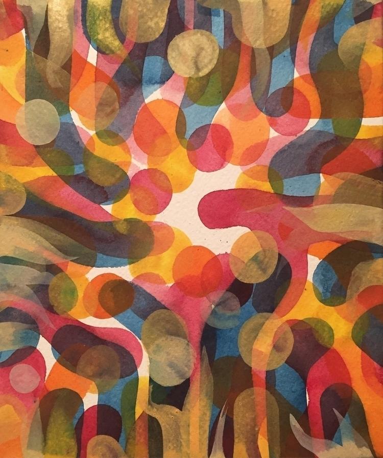 Seasonal Math, watercolor, 8 7 - mikebiskup | ello