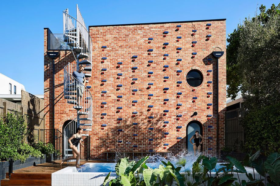 Cool brick house built secondar - red_wolf | ello