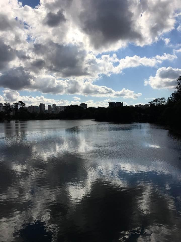 Lago Parque Ibirapuera em São P - antoniomg | ello