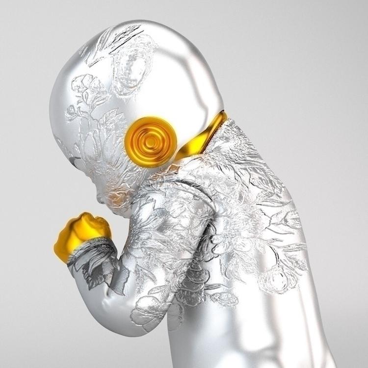 work explores human form, 3D gr - lastlauf | ello