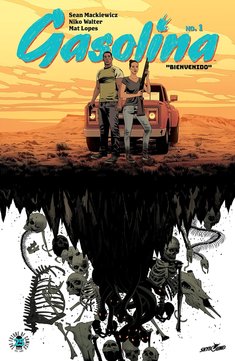 Gasolina Skybound/Image Comics  - oosteven | ello
