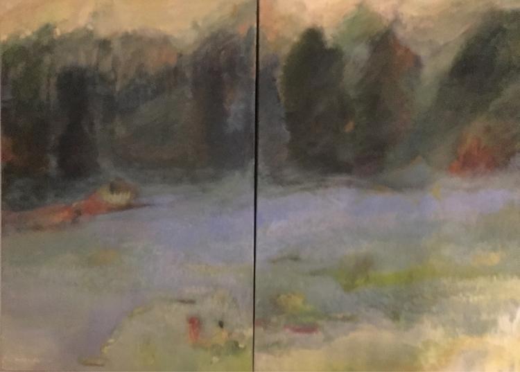 Field Lavender. 36x48 - bobbi-8863 | ello