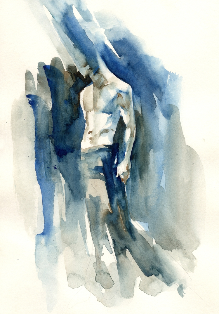 art, artist, illustration, watercolor - carloscaminha | ello