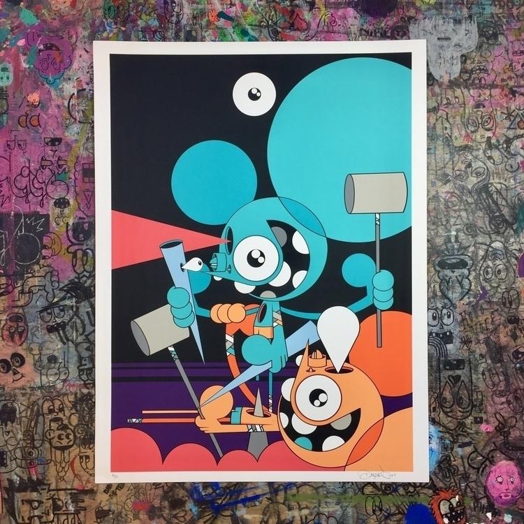 print shopdalek.com 10 color sc - dalek | ello