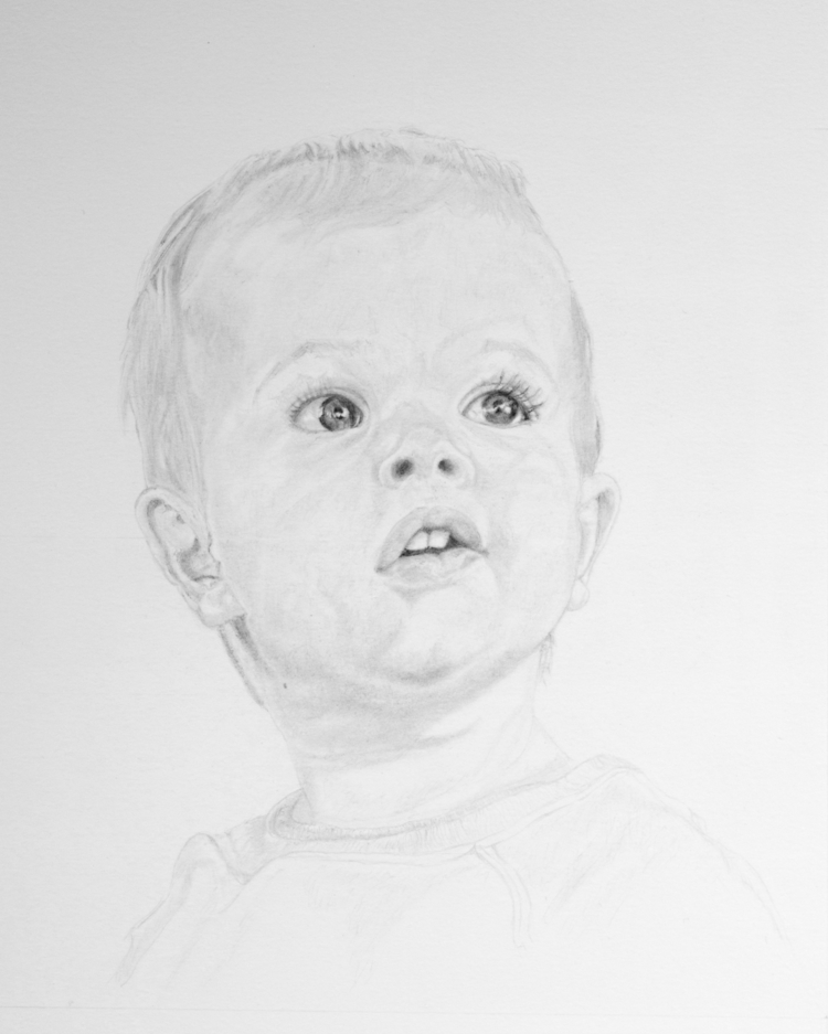 fun portrait draw! Graphite pen - johnmullinax | ello