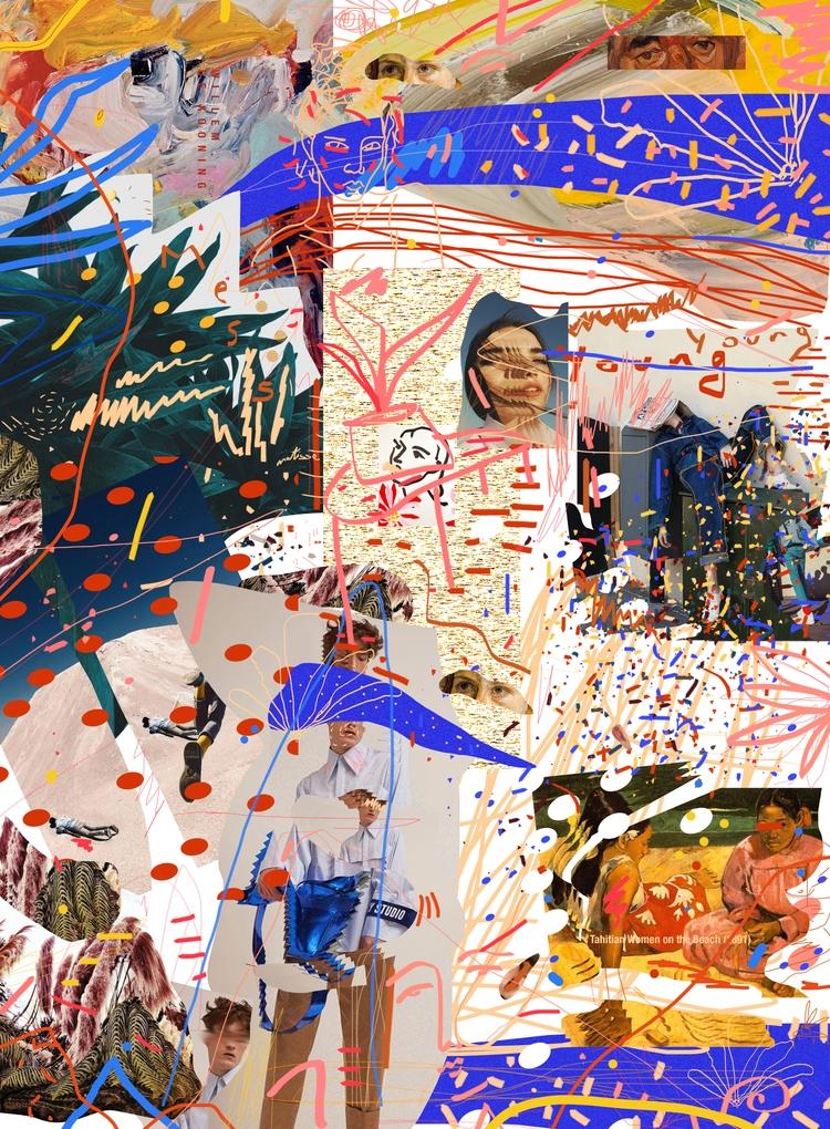 MEZCLA Fashion art collage Paul - paulguerrero | ello