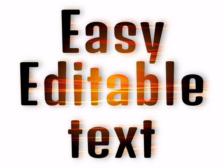 Typography Template ( Editable  - artlikesyou | ello