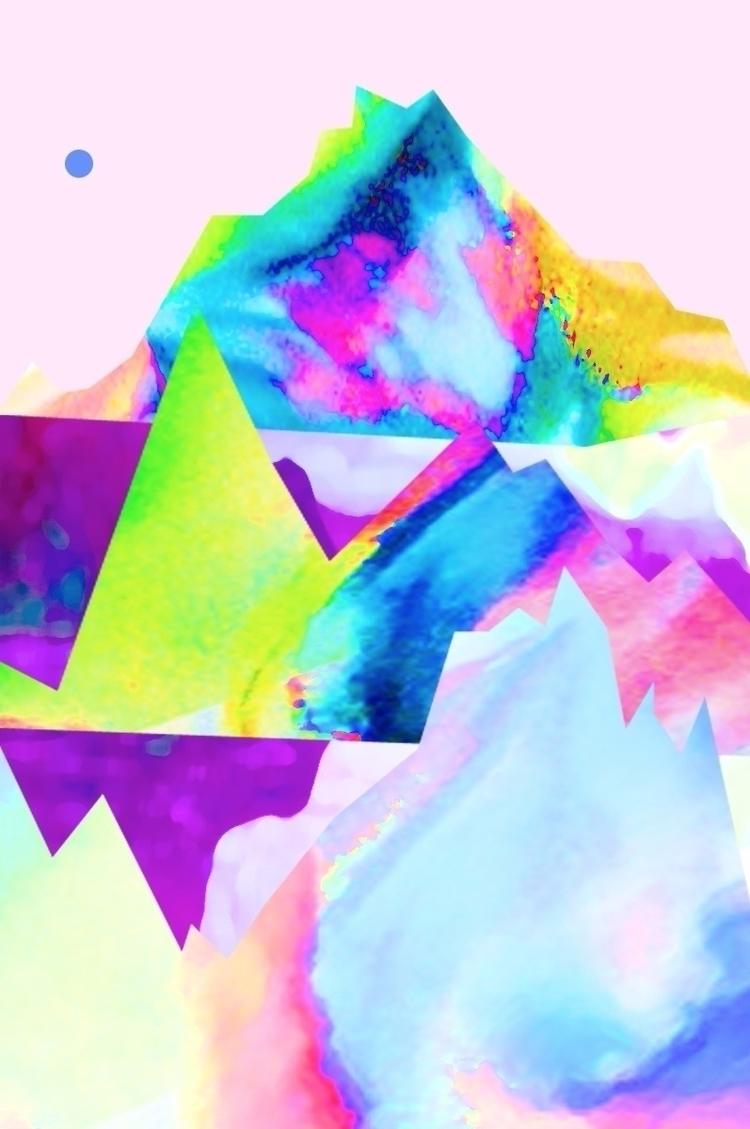 Julie Manescau - Hybrid 100x150 - manescaujulie | ello