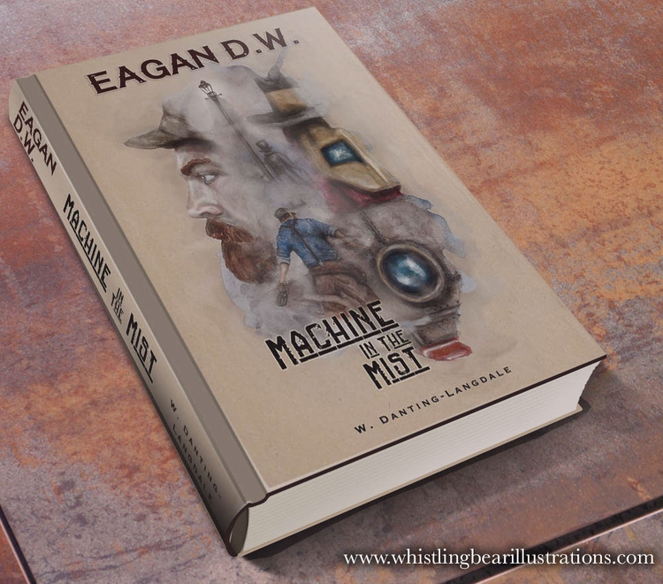 Eagan book cover mock - fantasy - whistlingbear | ello