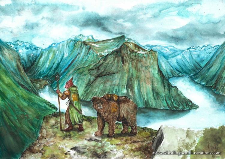 Hermit Nomad - fantasy, fairytale - whistlingbear | ello