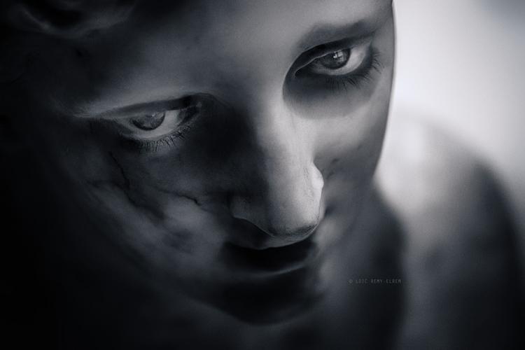 faces marble texture. Permafros - elrem | ello