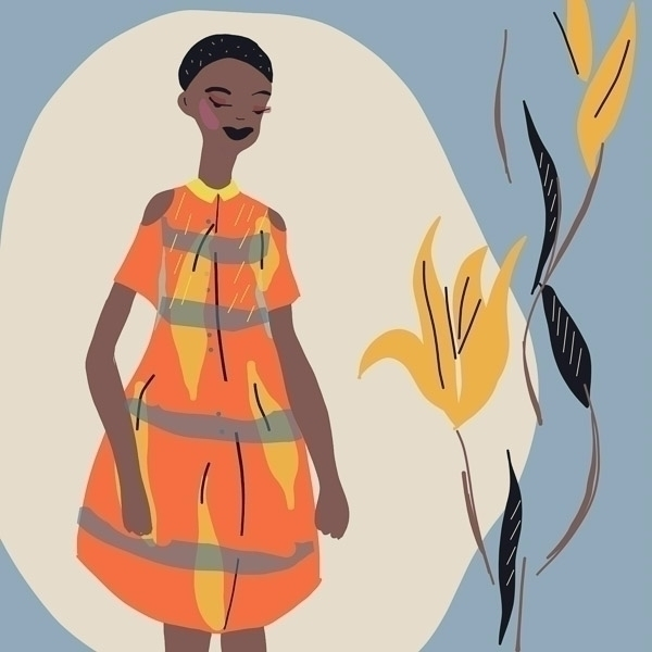 FASHION ILLUSTRATION. AFRICAN D - annajouli | ello