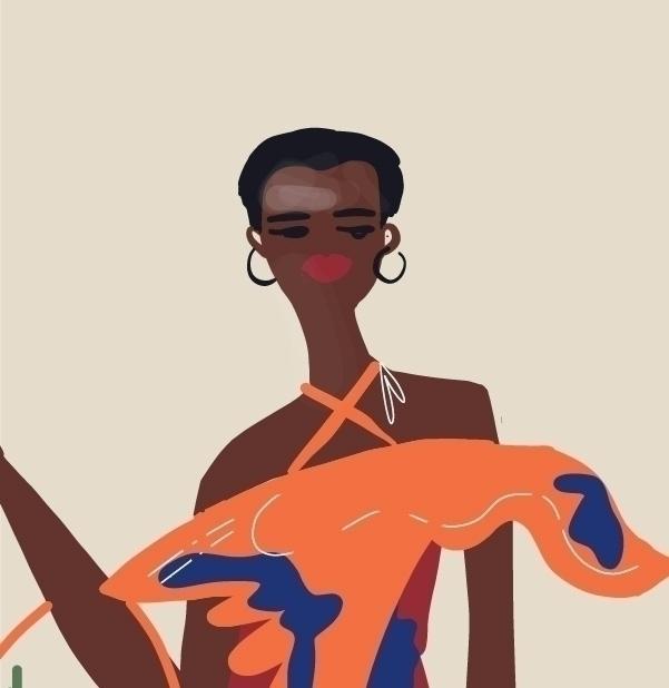 FASHION ILLUSTRATION. AFRICAN D - annajouli | ello