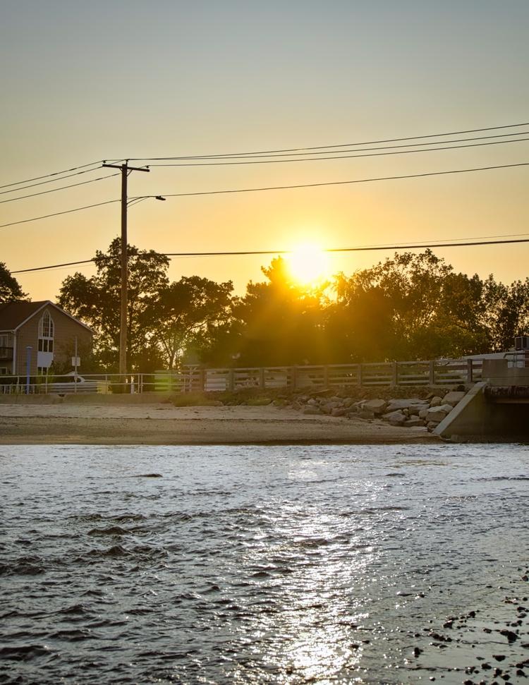 Oyster River Sunset | [Ello](ht - photografia | ello