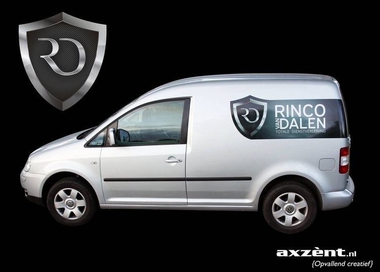 Logo sticker Car Rinco van Dale - wvw001 | ello