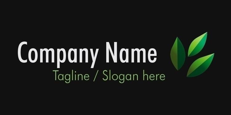 Logo Concept, Green 2 - Plant - wvw001 | ello