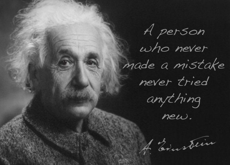 person mistake ~ Albert - Einstein - esquirephotography | ello
