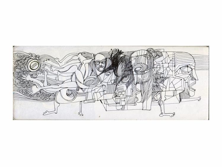 Long sketchbook Blog | Shop - sketch - babakesmaeli | ello