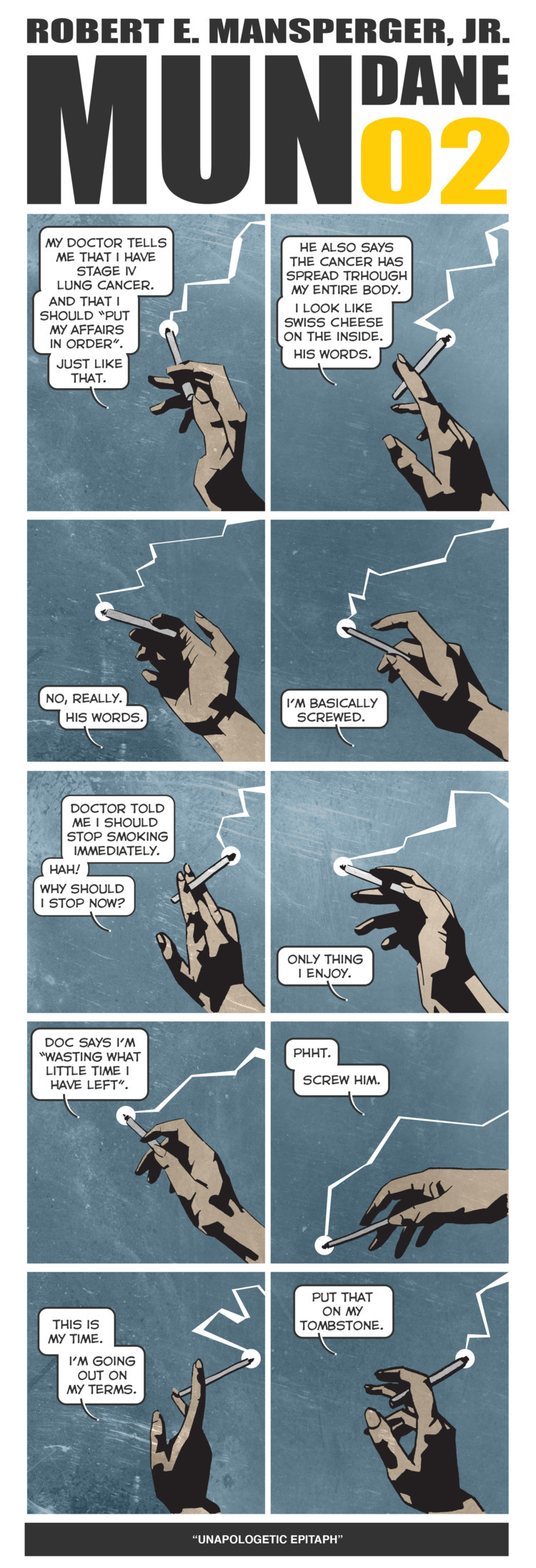 MUNDANE 02 comic strip - rmansperger   ello