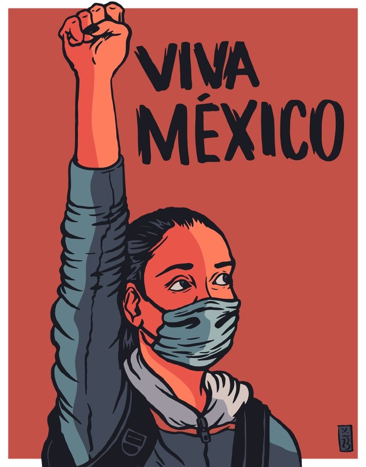Viva México, tragic earthquake  - thomcat23   ello