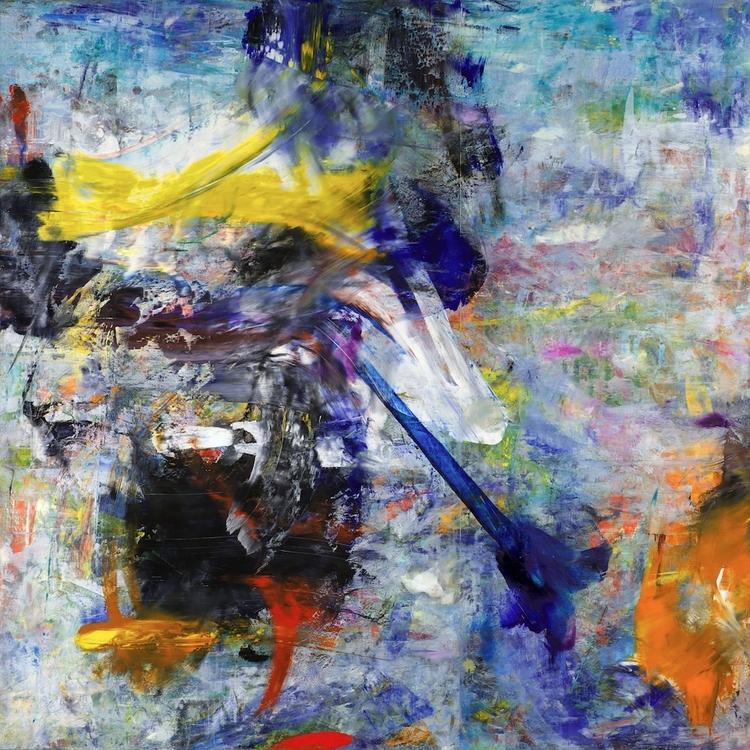 painting: Americano (Oil wood p - dirkmarwig | ello
