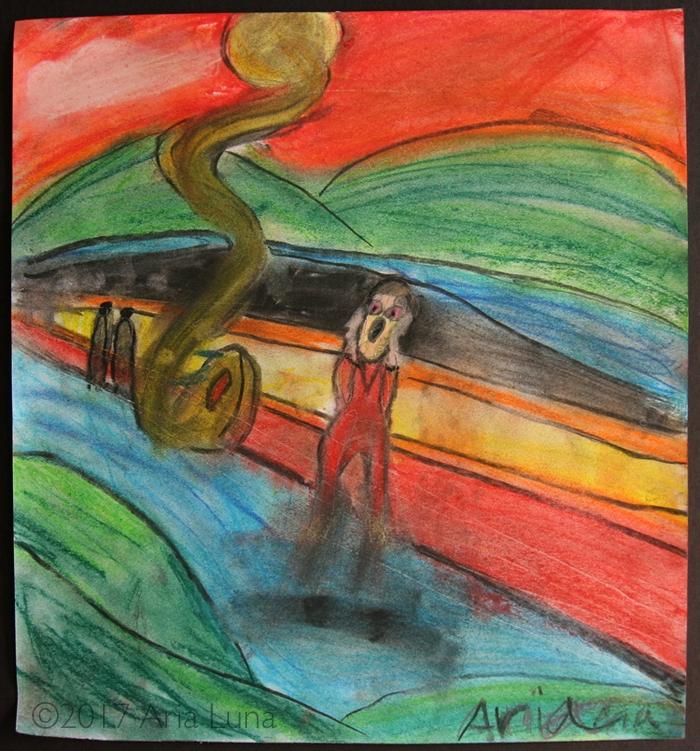 latest work... art class learne - arialuna   ello