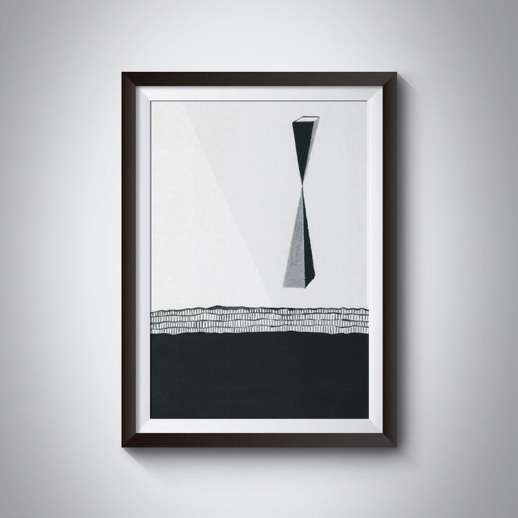 _Time, 21x29,7 cm, acrylic, pai - ilobahie | ello
