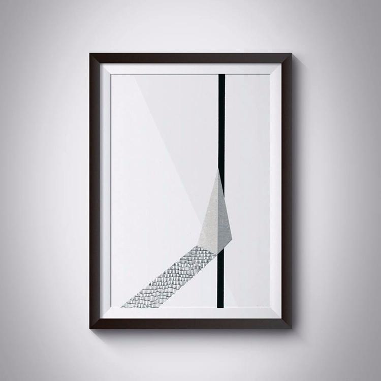 _Road, 21x29,7 cm, acrylic, pai - ilobahie | ello