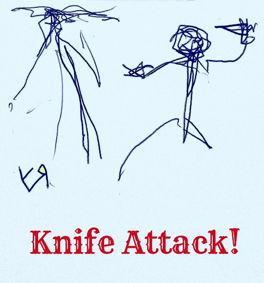 Knife Attack! Richard Yates (Se - richardfyates | ello