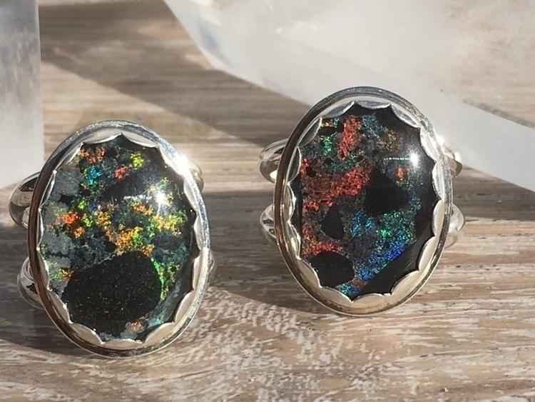 andamooka opal rings shop - opalring - phoenixrisingjewelry | ello