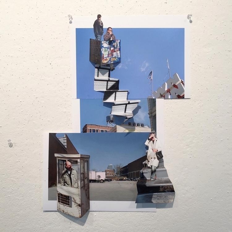 collage repurposed prints - photography - annajacobson | ello