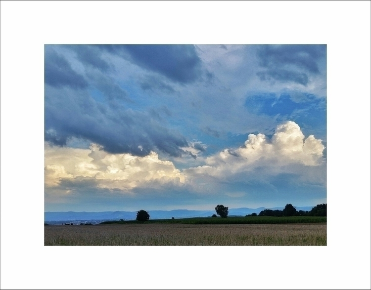 bicycle tour - nature, blue, sky - aleksaleksa | ello