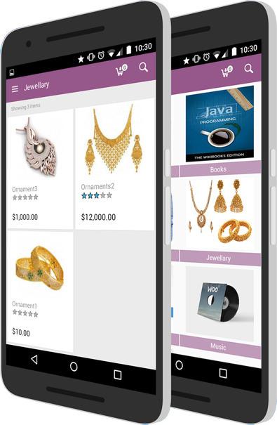 Build Native Mobile App WooComm - vootouch | ello