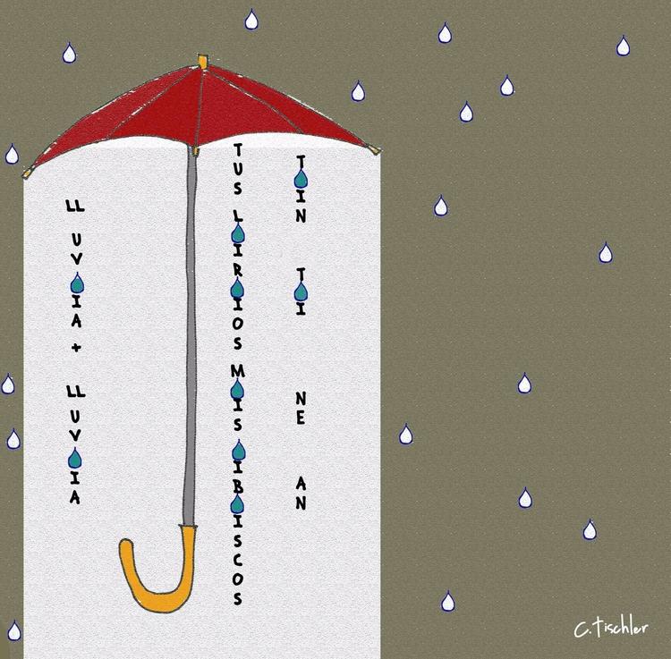 ilustration, haiku al agua - carmen-9654 | ello
